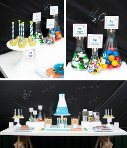 Science Themed Birthday Party with Lots of Realy Awesome Ideas via Kara's Party Ideas KarasPartyIdeas.com #ScienceParty #PeriodicTableOfElements #PartyIdeas #Supplies (1)