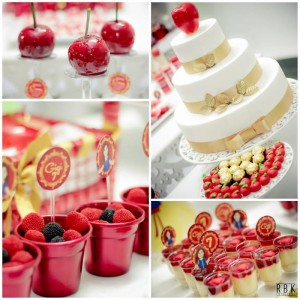 Snow White Party Full of Fabulous Ideas via Kara's Party Ideas KarasPartyIdeas.com #SnowWhite #SnowWhiteAndTheSevenDwarfs #PoisonedApple #PartyIdeas #Supplies (1)