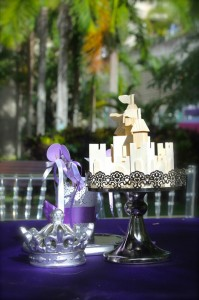 Purple Princess + Sofia the First Themed Birthday Party via Kara's Party Ideas KarasPartyIdeas.com #PrincessParty #SofiaTheFirstParty #ParytIdeas #Supplies (15)