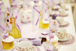 Sofia the First Princess Tea Party with Lots of Cute Ideas via Kara's Party Ideas | KarasPartyIdeas.com #PrincessParty #TeaParty #PartyIdeas #Supplies (5)