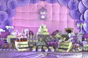 Purple Princess + Sofia the First Themed Birthday Party via Kara's Party Ideas KarasPartyIdeas.com #PrincessParty #SofiaTheFirstParty #ParytIdeas #Supplies (14)