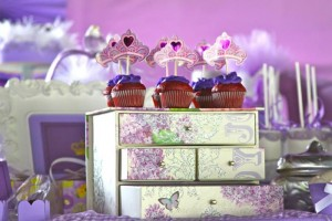 Purple Princess + Sofia the First Themed Birthday Party via Kara's Party Ideas KarasPartyIdeas.com #PrincessParty #SofiaTheFirstParty #ParytIdeas #Supplies (12)