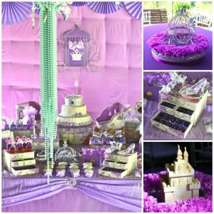 Purple Princess + Sofia the First Themed Birthday Party via Kara's Party Ideas KarasPartyIdeas.com #PrincessParty #SofiaTheFirstParty #ParytIdeas #Supplies (1)