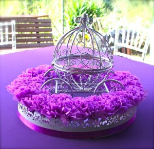 Purple Princess + Sofia the First Themed Birthday Party via Kara's Party Ideas KarasPartyIdeas.com #PrincessParty #SofiaTheFirstParty #ParytIdeas #Supplies (10)