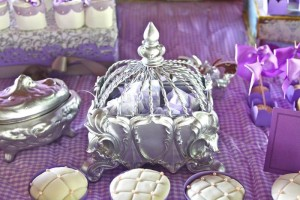 Purple Princess + Sofia the First Themed Birthday Party via Kara's Party Ideas KarasPartyIdeas.com #PrincessParty #SofiaTheFirstParty #ParytIdeas #Supplies (8)