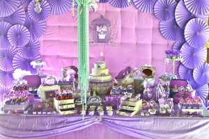 Purple Princess + Sofia the First Themed Birthday Party via Kara's Party Ideas KarasPartyIdeas.com #PrincessParty #SofiaTheFirstParty #ParytIdeas #Supplies (3)
