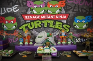 TMNT Party with Such Awesome Ideas via Kara's Party Ideas | KarasPartyIdeas.com #TeenageMutantNinjaTurtles #PartyIdeas #Supplies (18)