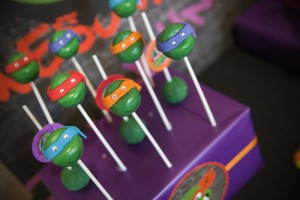 TMNT Party with Such Awesome Ideas via Kara's Party Ideas | KarasPartyIdeas.com #TeenageMutantNinjaTurtles #PartyIdeas #Supplies (6)