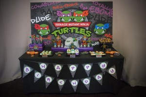 TMNT Party with Such Awesome Ideas via Kara's Party Ideas | KarasPartyIdeas.com #TeenageMutantNinjaTurtles #PartyIdeas #Supplies (5)