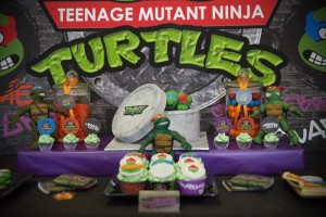 TMNT Party with Such Awesome Ideas via Kara's Party Ideas | KarasPartyIdeas.com #TeenageMutantNinjaTurtles #PartyIdeas #Supplies (4)