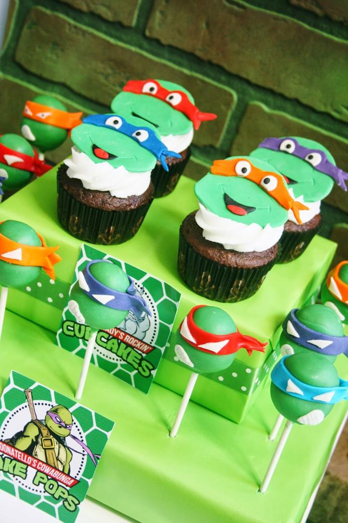 teenage mutant ninja turtles party with lots of really cool ideas via