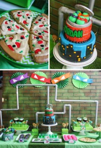 Teenage Mutant Ninja Turtles Party with Lots of Really Cool Ideas via Kara's Party Ideas KarasPartyIdeas.com #TMNTParty #PartyIdeas #Supplies (1)