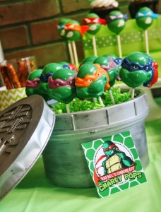 Teenage Mutant Ninja Turtles Party with Lots of Really Cool Ideas via Kara's Party Ideas KarasPartyIdeas.com #TMNTParty #PartyIdeas #Supplies (7)
