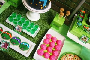 Teenage Mutant Ninja Turtles Party with Lots of Really Cool Ideas via Kara's Party Ideas KarasPartyIdeas.com #TMNTParty #PartyIdeas #Supplies (4)