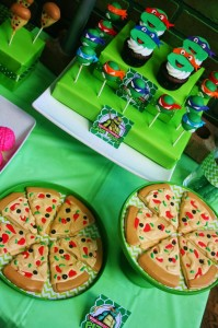 Teenage Mutant Ninja Turtles Party with Lots of Really Cool Ideas via Kara's Party Ideas KarasPartyIdeas.com #TMNTParty #PartyIdeas #Supplies (3)