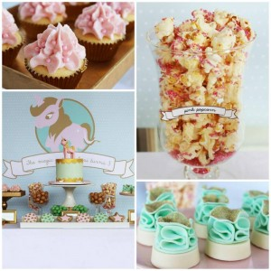 Pink, Mint, & Gold Unicorn Party with Lots of Really Great Ideas via Kara's Party Ideas KarasPartyIdeas.com #UnicornParty #GirlParty #PartyIdeas #Supplies (1)