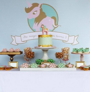 Pink, Mint, & Gold Unicorn Party with Lots of Really Great Ideas via Kara's Party Ideas KarasPartyIdeas.com #UnicornParty #GirlParty #PartyIdeas #Supplies (15)