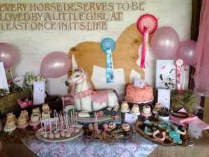 Vintage Pony Soiree with So Many Cute Ideas via Kara's Party Ideas KarasPartyIdeas.com #PonyParty #WesternParty #CowgirlParty #PonyCake #PartyIdeas #Supplies (20)