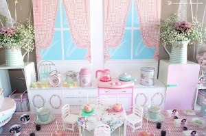 Vintage Kitchen Party Full of Really Cute Ideas via Kara's Party Ideas KarasPartyIdeas.com #VintageKitchen #KitchenParty #TeaParty #PartyIdeas #Supplies (17)