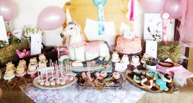 Vintage Pony Soiree with So Many Cute Ideas via Kara's Party Ideas KarasPartyIdeas.com #PonyParty #WesternParty #CowgirlParty #PonyCake #PartyIdeas #Supplies (2)