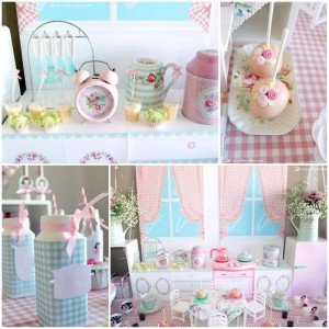 Vintage Kitchen Party Full of Really Cute Ideas via Kara's Party Ideas KarasPartyIdeas.com #VintageKitchen #KitchenParty #TeaParty #PartyIdeas #Supplies (1)