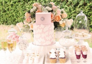 Outdoor Wedding Dessert Table with So Many Beautiful Ideas via Kara's Party Ideas KarasPartyIdeas.com #WeddingDessertTable #WeddingReception #PartyIdeas #Supplies (9)