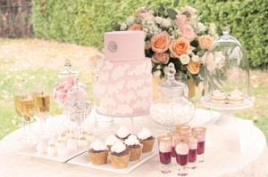 Outdoor Wedding Dessert Table with So Many Beautiful Ideas via Kara's Party Ideas KarasPartyIdeas.com #WeddingDessertTable #WeddingReception #PartyIdeas #Supplies (8)