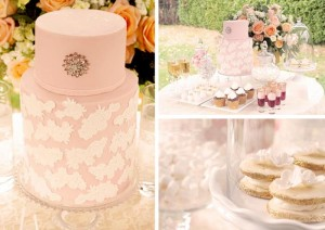 Outdoor Wedding Dessert Table with So Many Beautiful Ideas via Kara's Party Ideas KarasPartyIdeas.com #WeddingDessertTable #WeddingReception #PartyIdeas #Supplies (1)