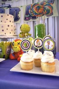 Zombie Pets Birthday Party with FREE PRINTABLES via Kara's Party Ideas | KarasPartyIdeas.com #PetParty #PartyPrintables #Party #Ideas #Supplies (7)