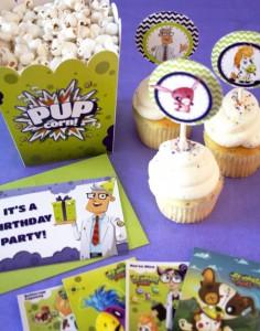 Zombie Pets Birthday Party with FREE PRINTABLES via Kara's Party Ideas | KarasPartyIdeas.com #PetParty #PartyPrintables #Party #Ideas #Supplies (3)