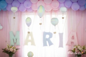 Pastel Rainbow Hot Air Balloon Party via Kara's Party Ideas KarasPartyIdeas.com #RainbowParty #HotAirBalloon #PartyIdeas #PartySupplies (1)