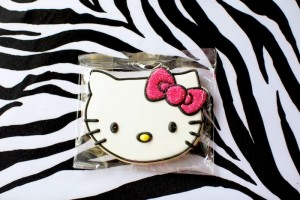 Hello Kitty Pink Zebra themed birthday party with Lots of Really Cute Ideas via Kara's Party Ideas Kara Allen KarasPartyIdeas.com #HelloKitty #PinkZebraParty #PartyIdeas #Supplies (3)