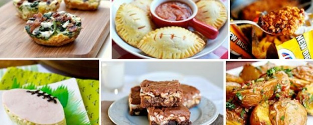 25 Big Game Football Super Bowl Appetizer Recipes! Kara's Party Ideas KarasPartyIdeas.com