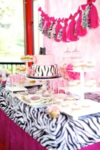 Hello Kitty Pink Zebra themed birthday party with Lots of Really Cute Ideas via Kara's Party Ideas Kara Allen KarasPartyIdeas.com #HelloKitty #PinkZebraParty #PartyIdeas #Supplies (21)