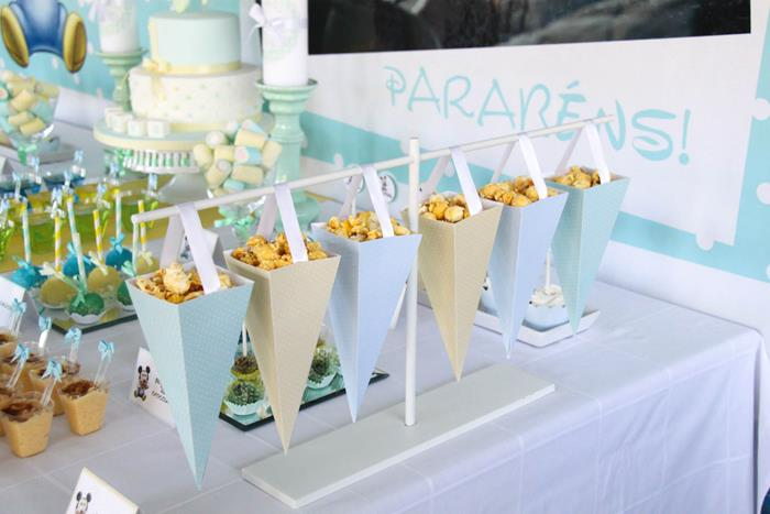 Kara's Party Ideas Baby Mickey Mouse Party with Lots of ...
