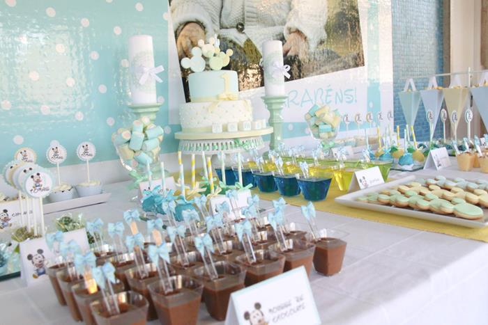 Karas Party Ideas Baby Mickey Mouse Party with Lots of Really