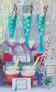 Disney's Frozen themed birthday party full of ideas! Via KarasPartyIdeas.com #frozen #frozenparty (16)