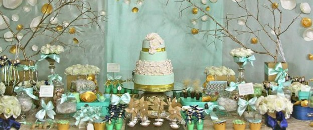 Gold and Mint Baptism with So Many Beautiful Ideas via Kara's Party Ideas | KarasPartyIdeas.com #GoldAndMintParty #BaptismDessertTable #BaptismIdeas #PartyIdeas #Supplies (2)