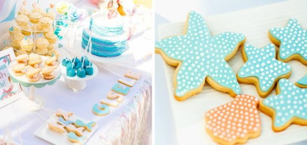Pastel Mermaid Party with Such Cute Ideas via Kara's Party Ideas | KarasPartyIdeas.com #Mermaids #UnderThe Sea #PartyIdeas #Supplies (2)
