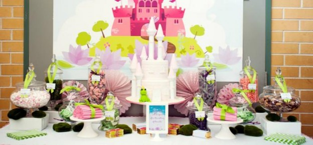 Pastel Princess And The Frog Party With Lots Of Cute Ideas Via Kara S