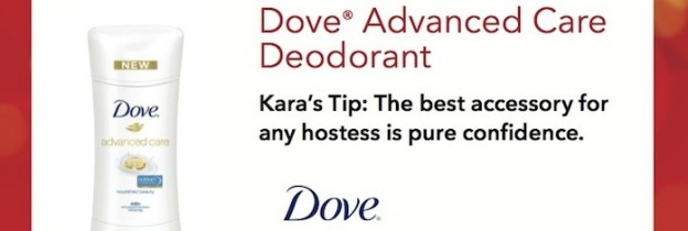 Red Carpet Party Tip using Dove Deo | Kara Allen People Magazine KarasPartyIdeas.com