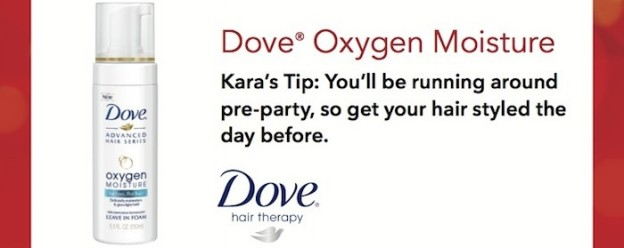 Red Carpet Party Tips and Ideas via Kara Allen Dove Hair People Magazine KarasPartyIdeas.com
