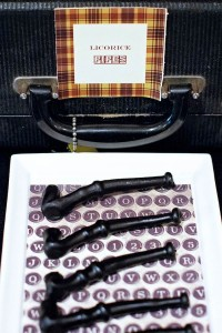 Sherlock Holmes themed party with Such Great Ideas via Kara's Party Ideas KarasPartyIdeas.com #DetectiveParty #MurderMystery #PartyIdeas #Supplies (9)