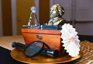 Sherlock Holmes themed party with Such Great Ideas via Kara's Party Ideas KarasPartyIdeas.com #DetectiveParty #MurderMystery #PartyIdeas #Supplies (20)