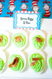 Thing 1 and Thing 2 twin themed birthday party via Kara's Party Ideas KarasPartyIdeas.com Dr Seuss Party Ideas #DrSeuss #PartyIdeas #Supplies (13)