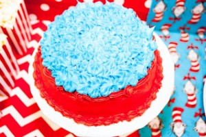 Thing 1 and Thing 2 twin themed birthday party via Kara's Party Ideas KarasPartyIdeas.com Dr Seuss Party Ideas #DrSeuss #PartyIdeas #Supplies (10)