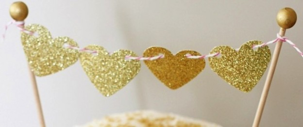Pink and gold valentine's day party via Kara's Party Ideas KarasPartyIdeas.com