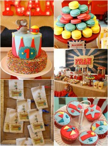 Vintage Circus Party via Kara's Party Ideas KarasPartyIdeas.com #CircusParty #VintageCircus #PartyIdeas #PartySupplies (1)