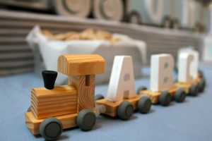 Alphabet Train Party with So Many Really Cute Ideas via Kara's Party Ideas Kara Allen KarasPartyIdeas.com #AlphabetParty #TrainParty #PartyIdeas #Supplies (8)