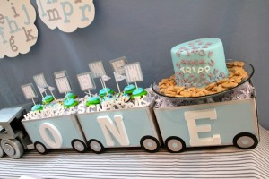 Alphabet Train Party with So Many Really Cute Ideas via Kara's Party Ideas Kara Allen KarasPartyIdeas.com #AlphabetParty #TrainParty #PartyIdeas #Supplies (5)